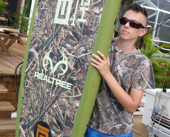 Camo BOTE SUP Paddle board RealTree